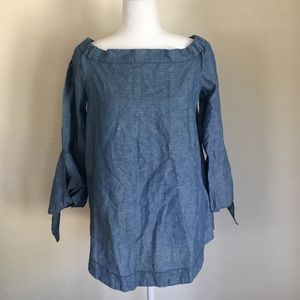 Free People Cotton/Linen Blend Tunic